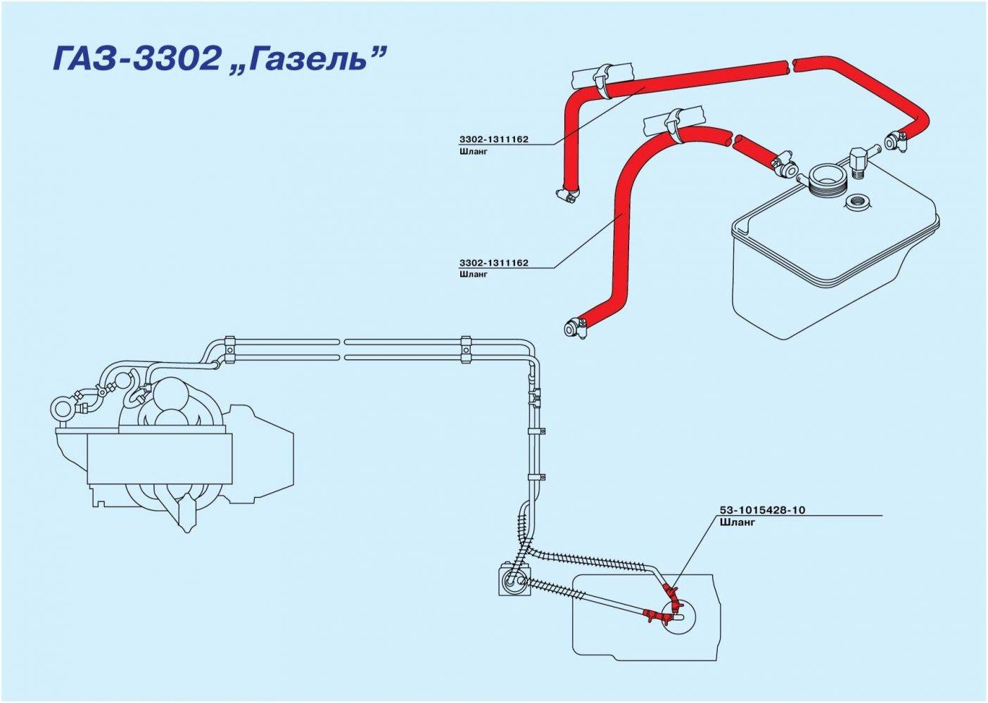 Тормозная система автомобилей Валдай ГАЗ-3310, ГАЗ 85